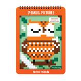 Pixel AUSMALBUCH Waldfreunde - mudpuppy