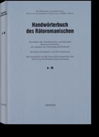 Handwörterbuch des Rätoromanischen