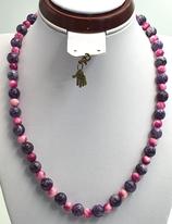 Marmorachat pink-lila