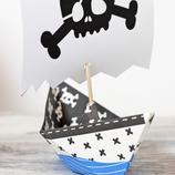 Printable Piratengeburtstag mit Anleitung