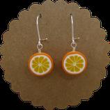 Orangen Ohrhänger 001