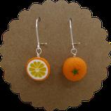 Orangen Ohrhänger 002