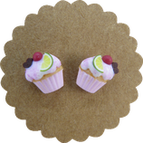 Muffin Ohrstecker klein 001