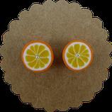 Orangen Ohrstecker 002