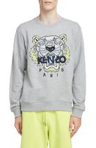 Kenzo Classic Tiger Crewneck Sweater Grijs
