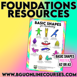 Foundations Basic Shapes POSTER