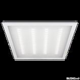 Светильник светодиодный ДВО-36w 595х595х19 4000K 3000Лм призма IP40