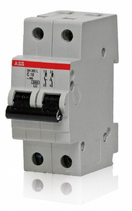Выключатель автоматический 2P 10A C 4.5кА BMS412C10 (2CDS642041R0104)