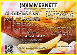 Karte Samstag 1. April 2017 - Abholung ONLINE AUSVERKAUFT!