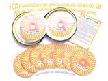 THIJA'A'NADA - Kinderschritte (9 CD's)  + Geschenk - Versandkostenfrei/ OHNE 50 ml Essenz