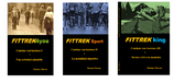 Los tres libros FITTREK4you, FITTREKsport y FITTREKking