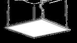LED Paneel 620x620x9 48W dimmbar
