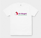T-SHIRT AIR NUIGINI PAPOUASIE NOUVELLE GUINEE