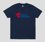 T-SHIRT CSA CZECH AIRLINES REPUBLIQUE TCHEQUE