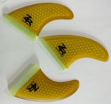 Honeycomb Fins Thurster Set  FCS oder FUTURE (ZR-Boarding)
