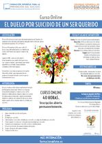 Curso online de Duelo por Suicidio.