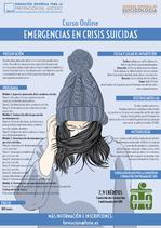 Curso online de emergencias en crisis suicidas.