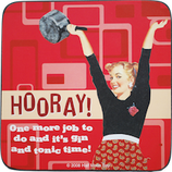 Hooray! - Untersetzer