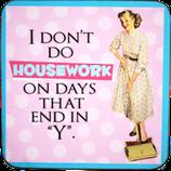 No Housework - Untersetzer