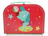 Zirkushund - Spielzeugkoffer (klein)