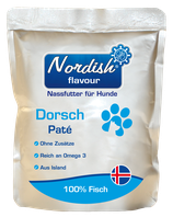 Hunde Dorsch Pastete