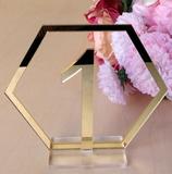 Hexagon Tischnummern 1-20