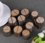 Holztischkartenhalter 10 Stück