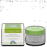 Crema viso idratazione intensa con estratto di viola e foglie di olivo - L'Erbolario