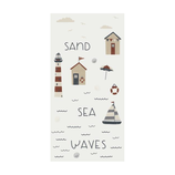 IB LAURSEN Serviette Sea Sand Waves