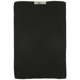 IB LAURSEN Handtuch gestrickt schwarz