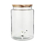 IB LAURSEN Getränkebehälter mit Holzdeckel 6 ltr