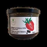 Bio Erdbeer mit Tellicherrypfeffer Konfitüre extra 250g