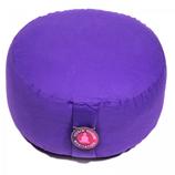 Meditatiekussen violet extra hoog