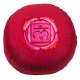 Meditatiekussen - 1e chakra: Muladhara - geborduurd