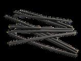 MSW 090101 1 Meter Schrumpfschlauch 2,4 mm auf 1,2 mm schwarz