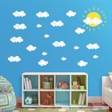 Infantiles / Pequeñines / Sol y nubes
