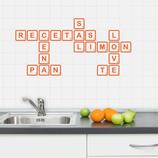 Azulejos - Scrabble de Alimentos