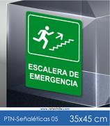 Señaléticas - Escalera de Emergencia