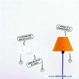 Enchufes - Mensajes con bombillas