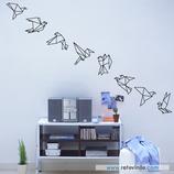 Animales - Pájaros de papel