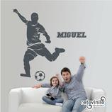 Personajes / Deportes / Futbolista