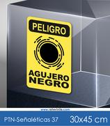 Señaléticas - Peligro Agujero Negro