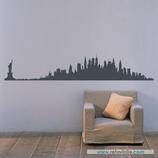 Arquitectura - Silueta Skyline de New York