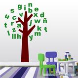 Infantiles / Pequeñines / Árbol de Letras