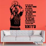 Personajes / Deportes / Michael Jordan y el éxito