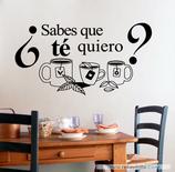 Cocinas - ¿Sabes que té quiero?