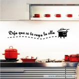Cocinas - Deja que se te valla la olla