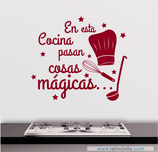 Cocinas - En esta cocina pasan cosas mágicas