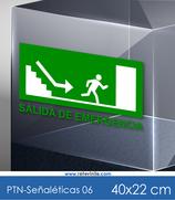 Señaléticas - Salida de Emergencia