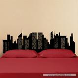 Arquitectura - Skyline edificios con ventanas